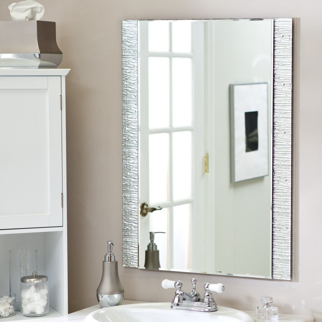 Image of: Interior Small Bathroom Mirrors