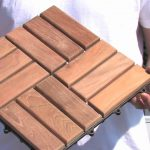 Interlocking Wood Deck Tiles Install