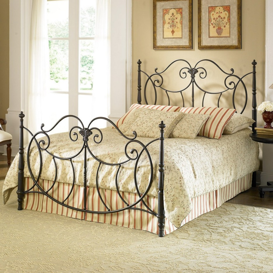 Image of: Iron Bed Frame Target