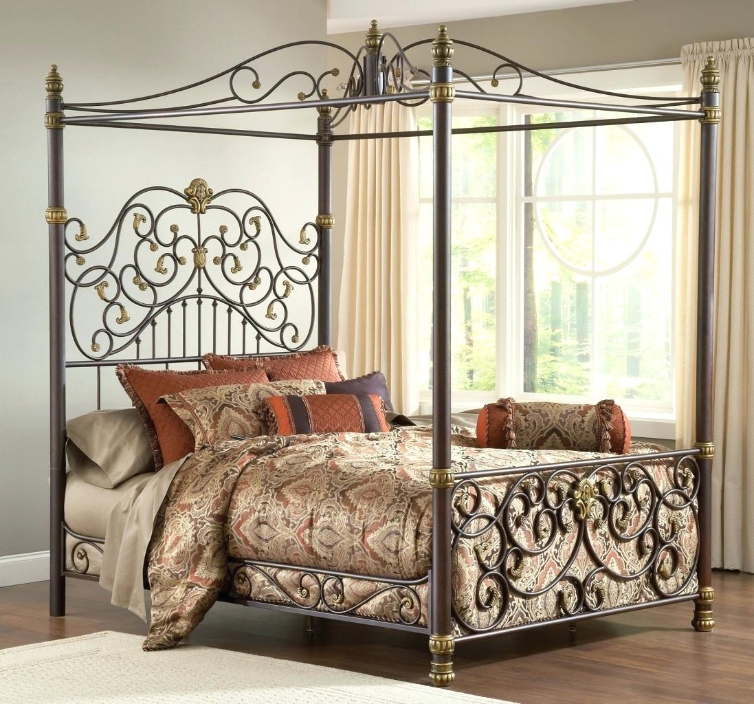 Image of: Iron Bed Frame Twin