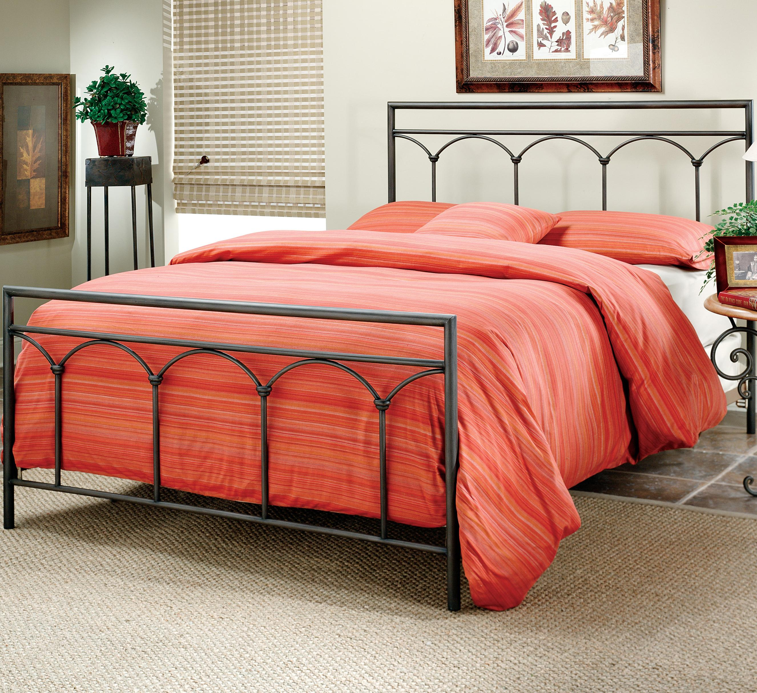 Image of: Iron Bed Frames King