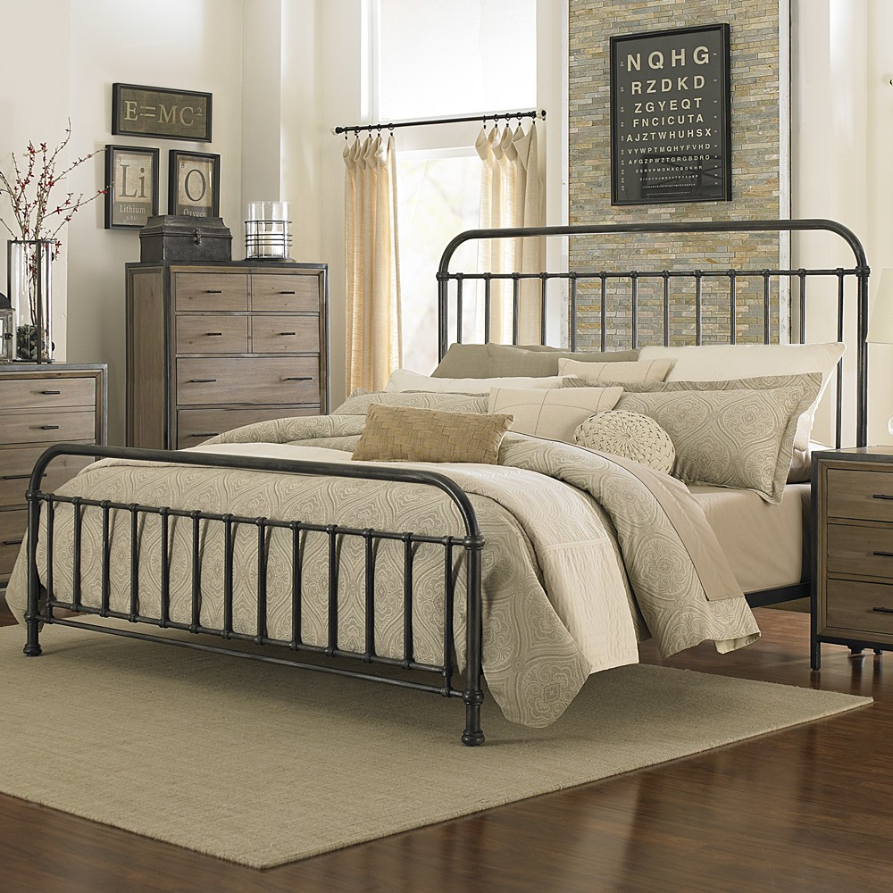 Image of: Iron El Dorado Bedroom Sets