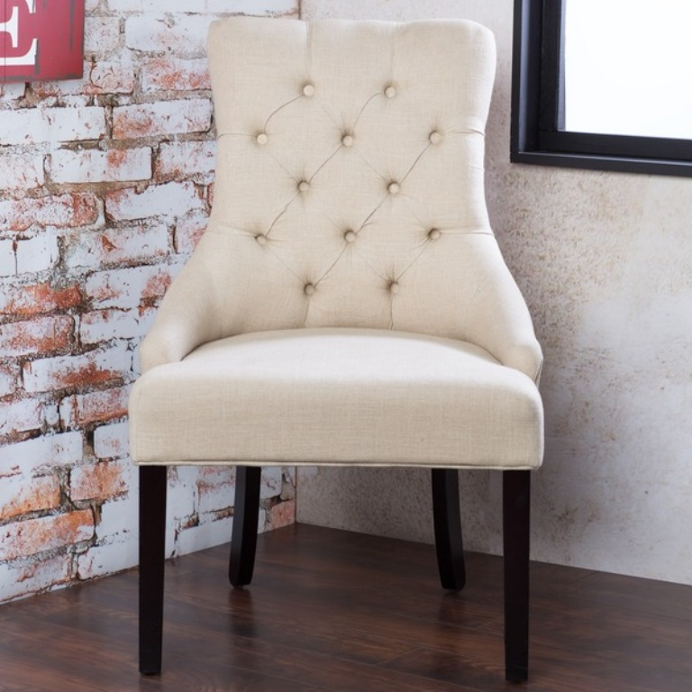Image of: Ivory Accent Chairs Ideas