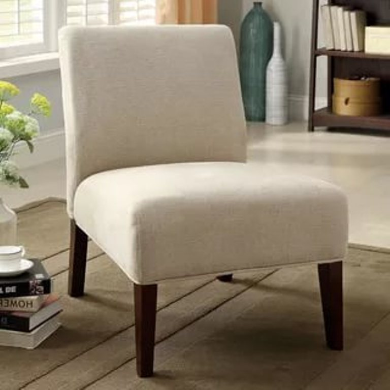 Image of: Ivory Accent Chairs