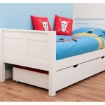 Kids Bed With Trundle Modern