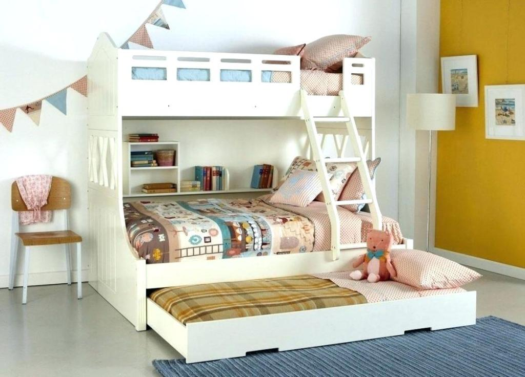 Image of: Kids Bed With Trundle