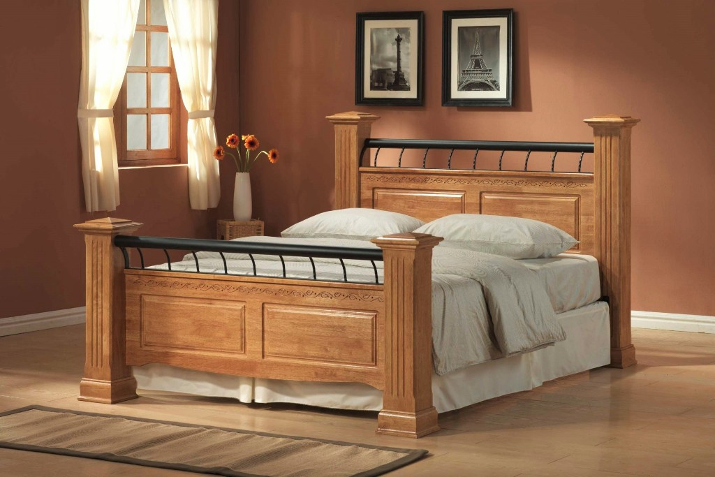 Image of: King Size Bed Frame Cheap