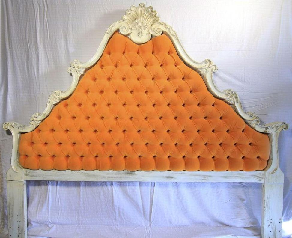 Image of: King Tufted Headboards