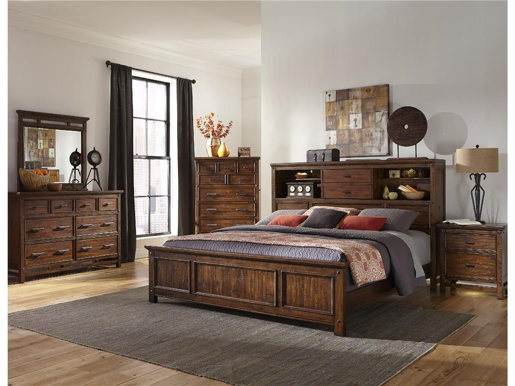Image of: King bookcase headboard  best