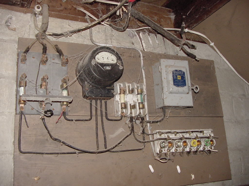 Image of: Knob and Tube Wiring IV