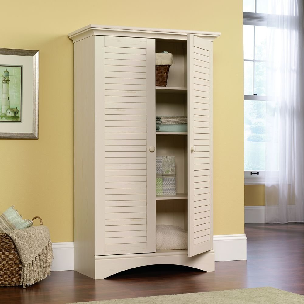 Image of: large bathroom linen cabinets