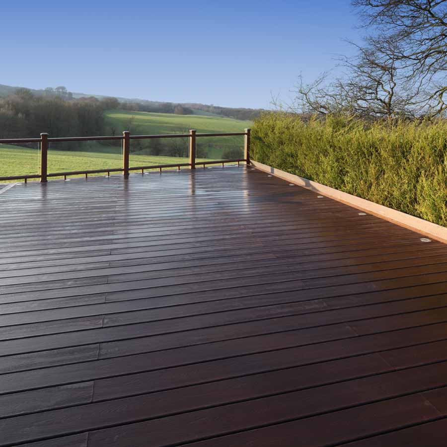 Image of: Large Deck Skirting Material