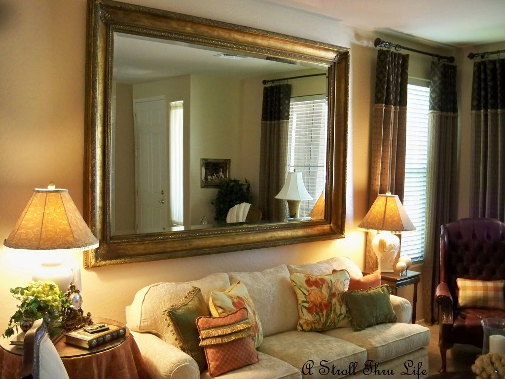 Image of: Large Decorative Wall Mirrors Collection