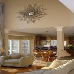 Large Decorative Wall Mirrors for Living Room