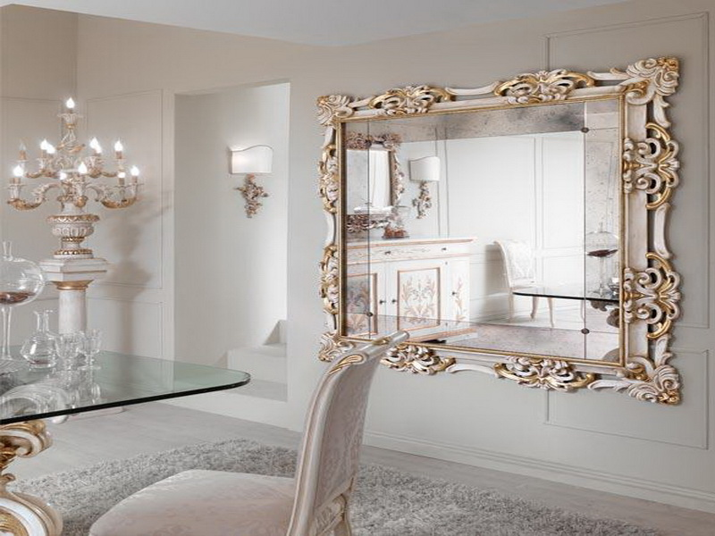 Large Framed Antique Mirrors
