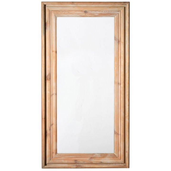 Image of: Large Framed Mirrors Wood