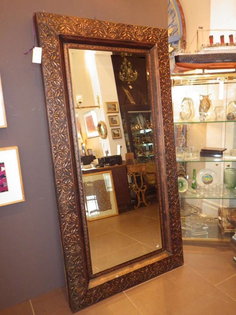 Image of: Large Framed Mirrors for Store
