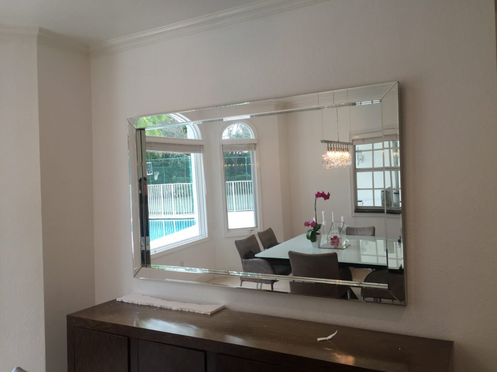 Image of: Large Mirror Wall Art