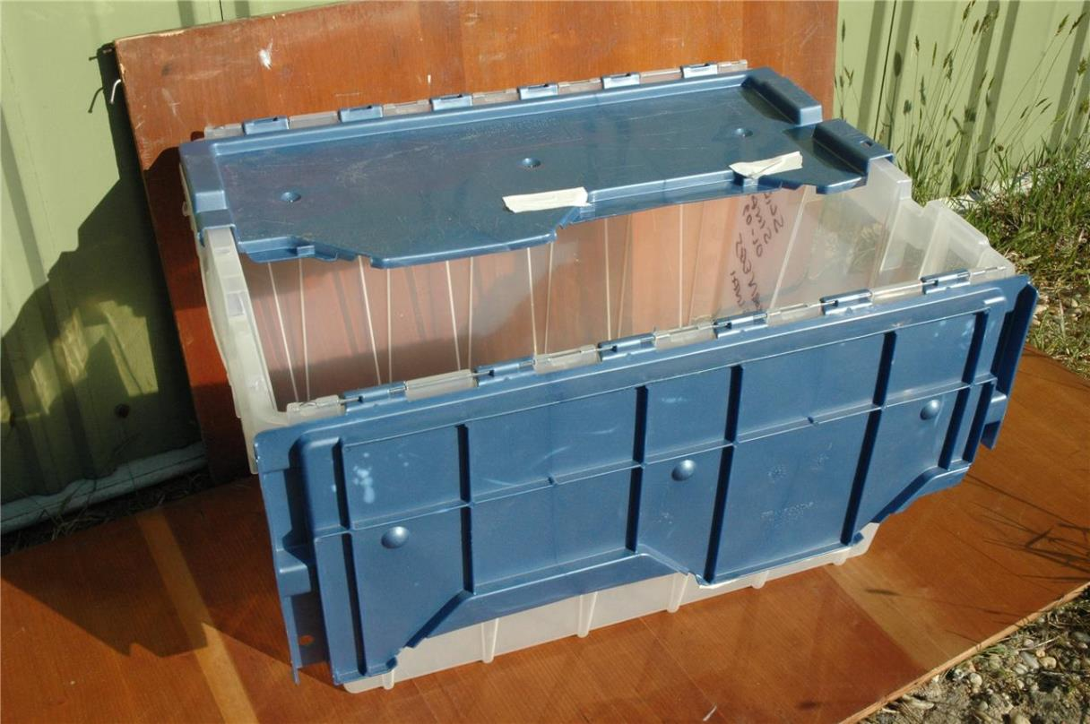 Image of: Large Storage Bins With Lids