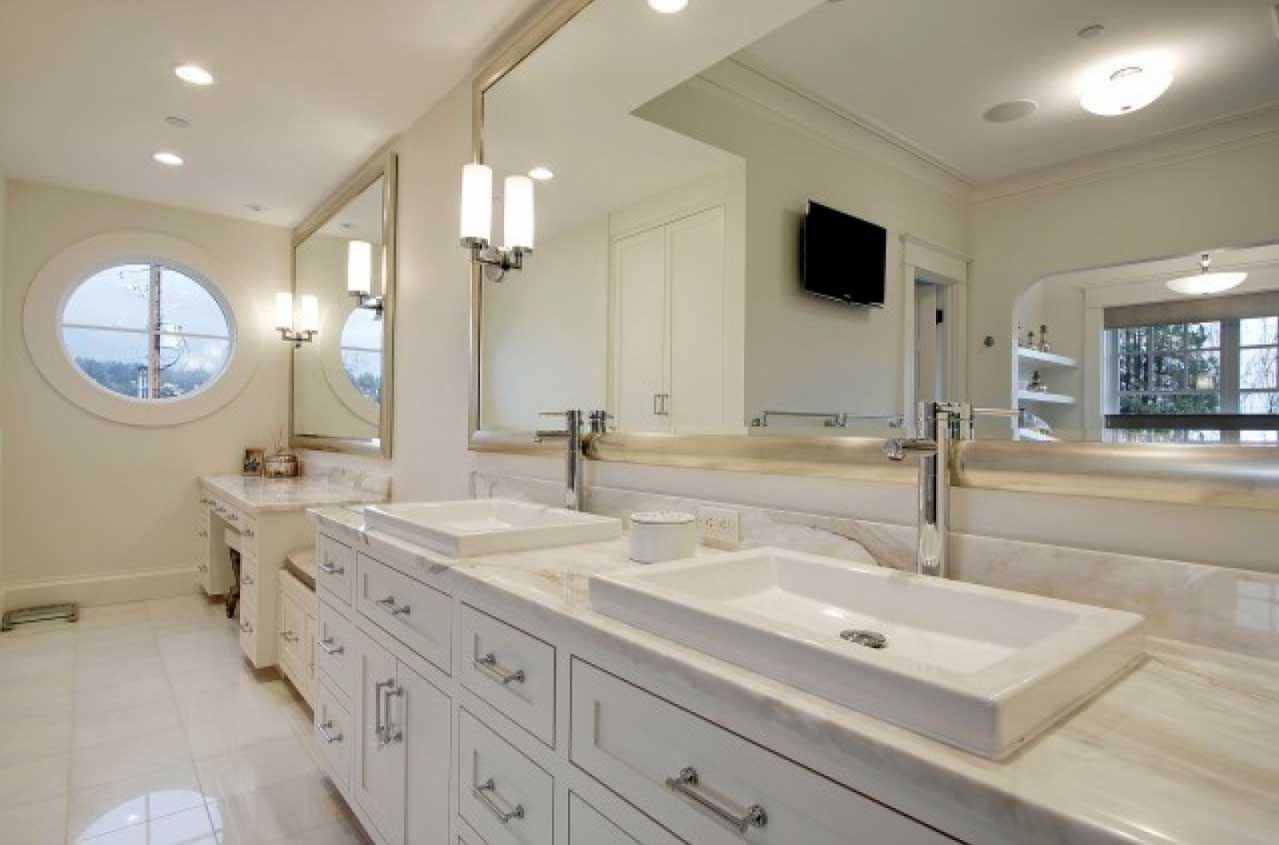 Image of: Large Vanity Wall Mirror