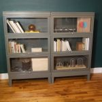 Lawyer Bookcase White Bookcase with Doors