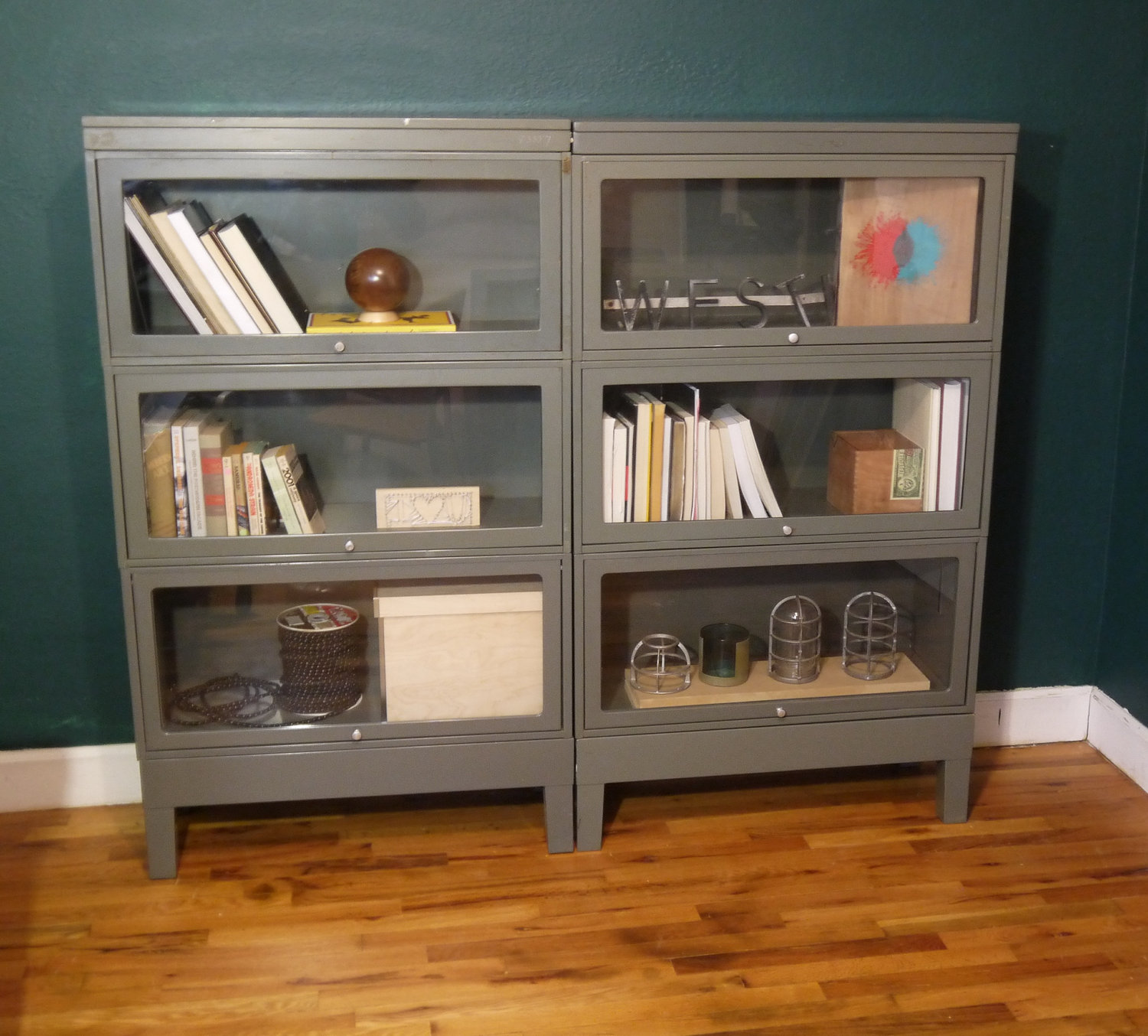 Image of: Lawyer Bookcase White Bookcase with Doors
