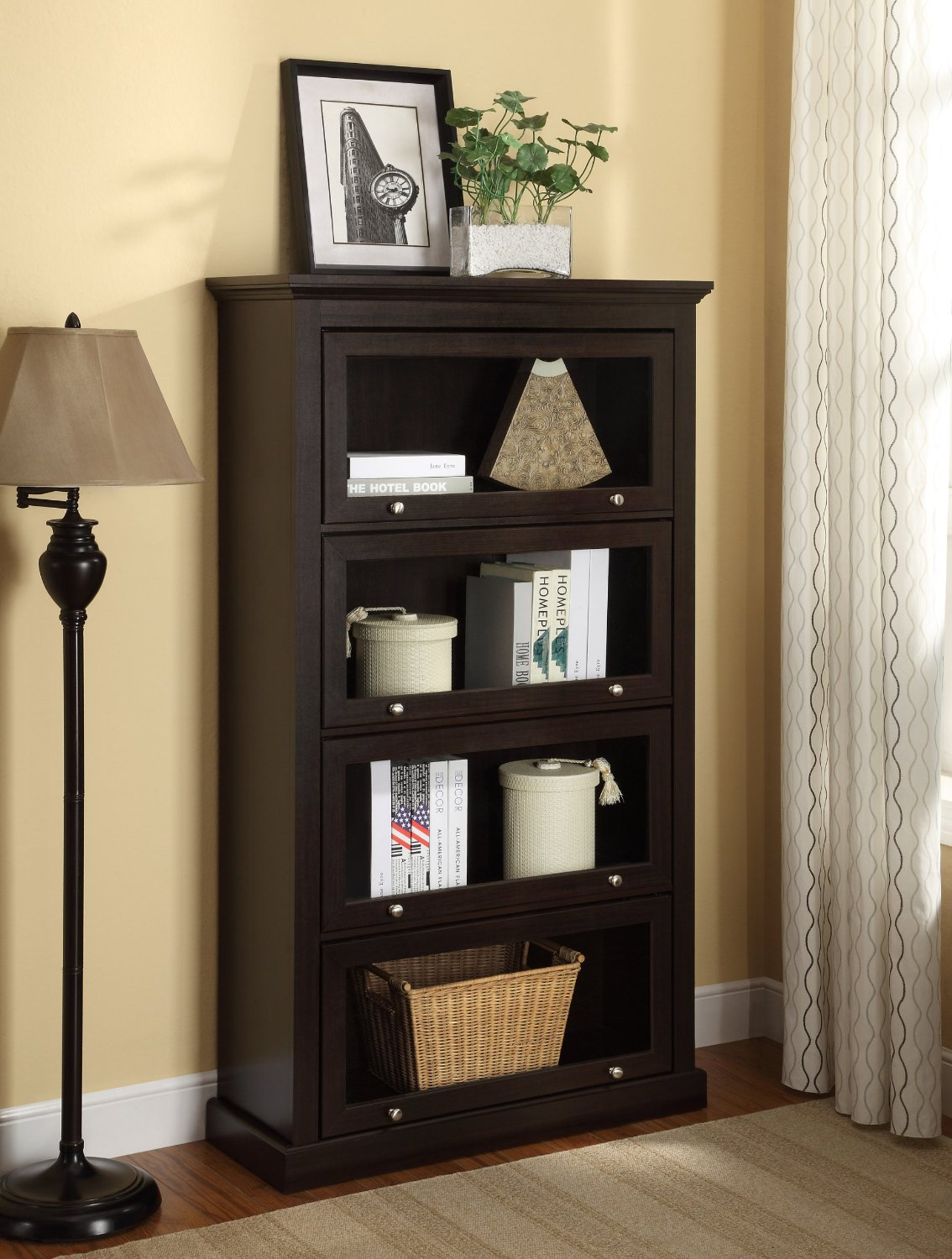 Image of: Lawyer Bookcase  tall