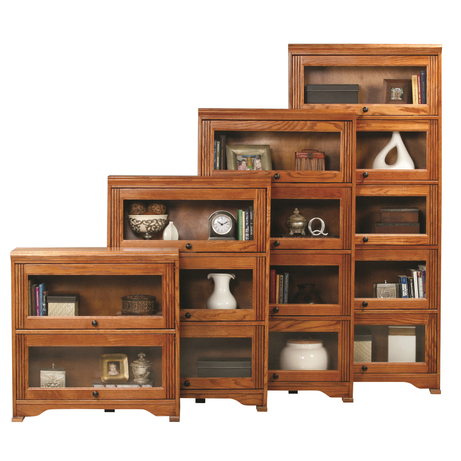 Image of: Lawyer Bookcase with Glass Doors
