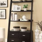 Leaning Ladder Bookcase Vintage