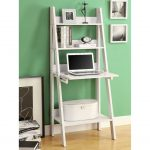 Leaning Ladder Bookcase Wooden