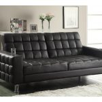 leather chair sleeper bed