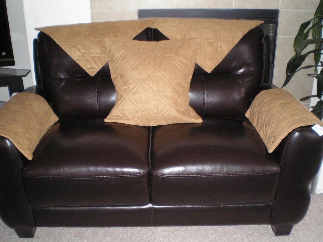 Image of: Leather Couch Protector
