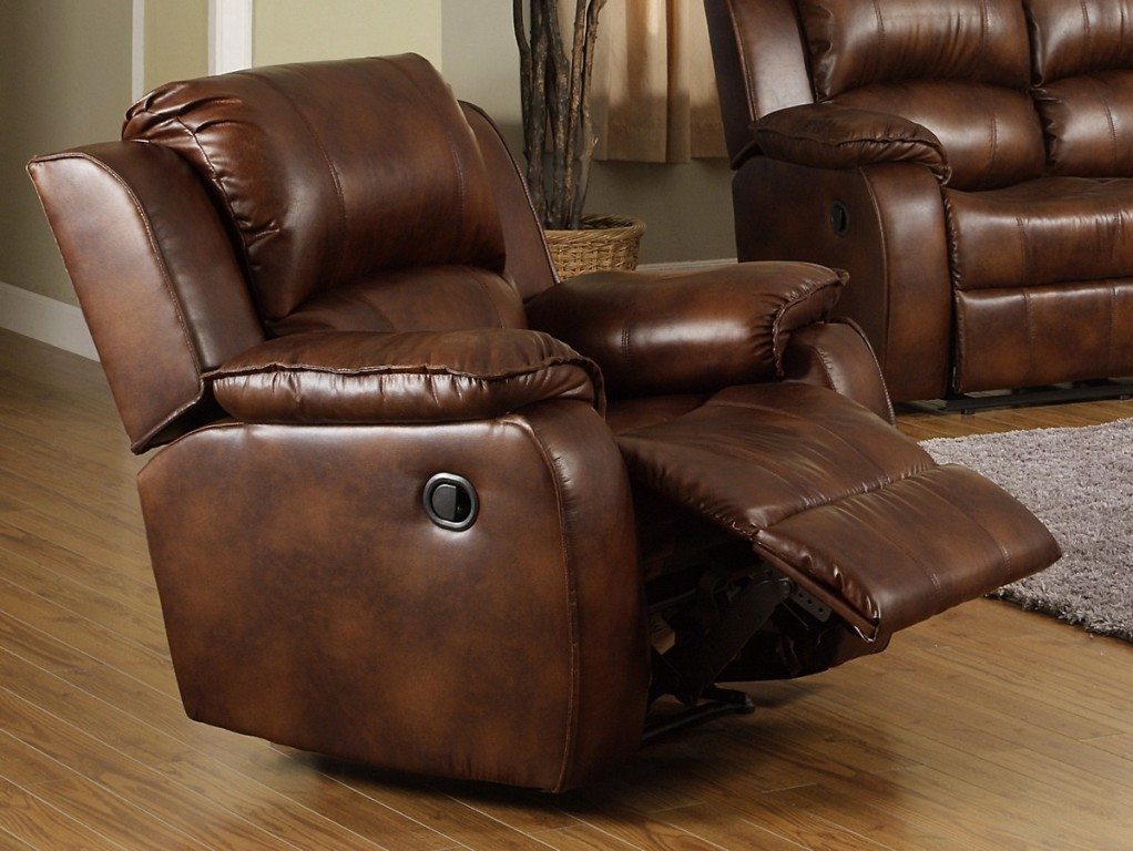 Image of: leather recliner chair covers
