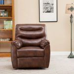 leather recliner chair and ottoman designs