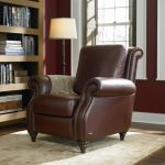 leather recliner chair with ottoman