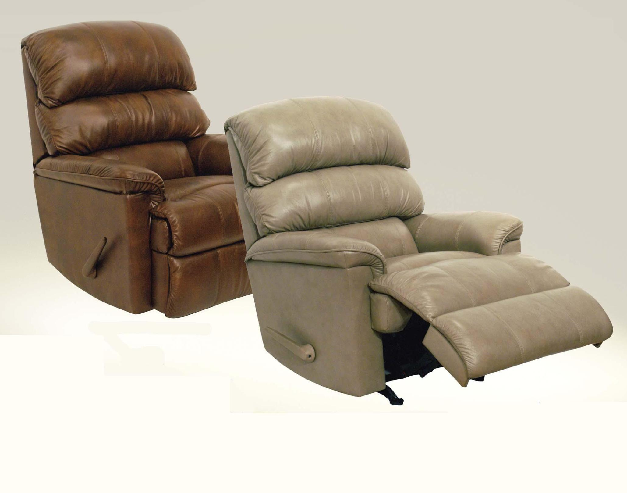 Image of: Leather Rocker Recliner Chairs
