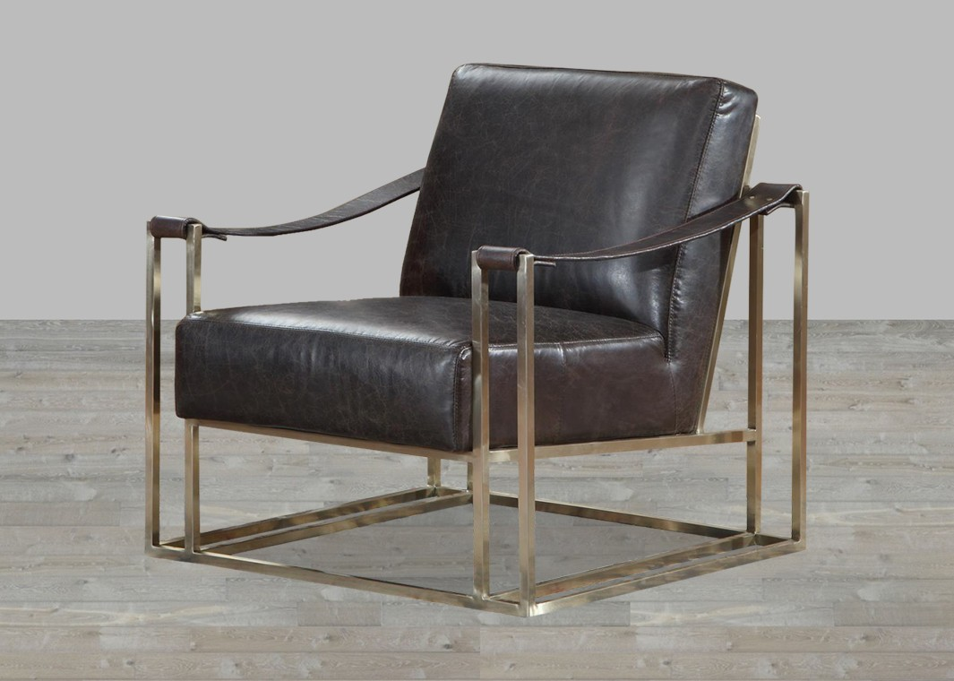 Image of: leather sling chair ideas