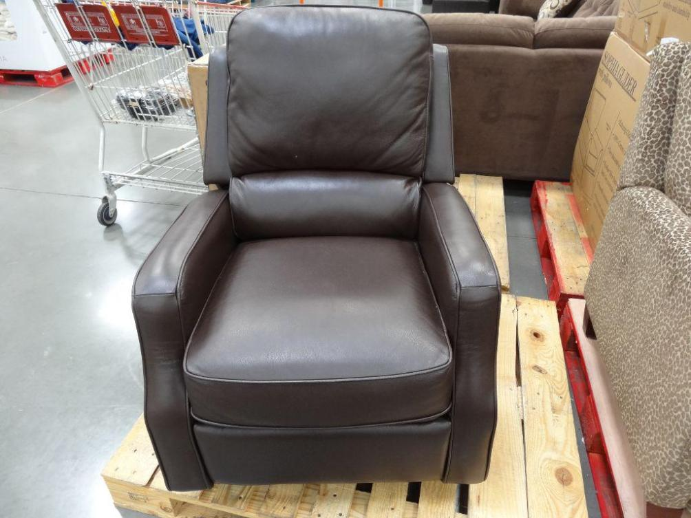Image of: Leather Swivel Rocker Recliner Chair