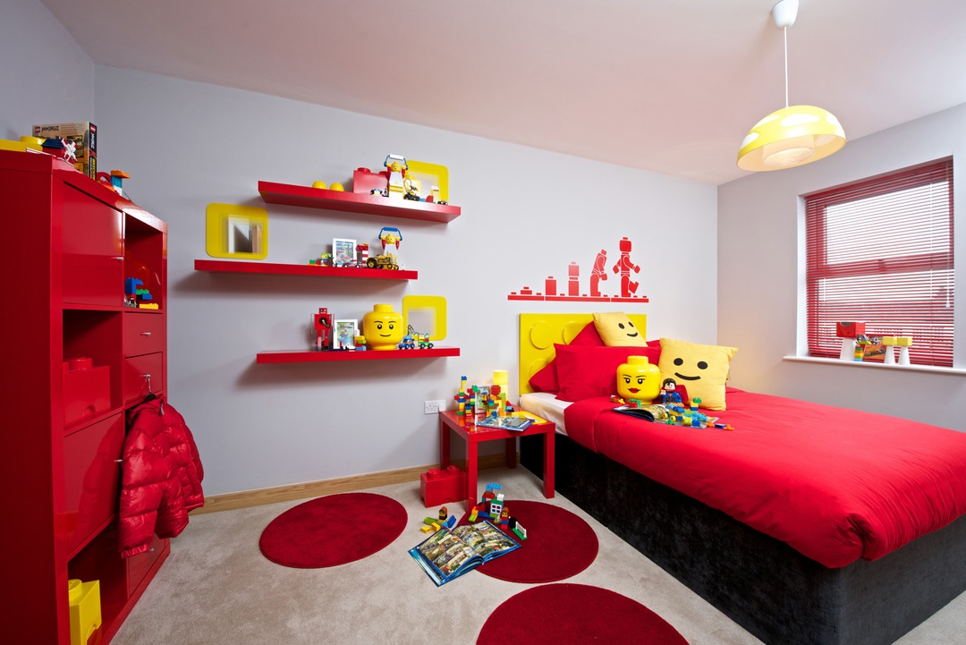 Lego Bedroom Decor