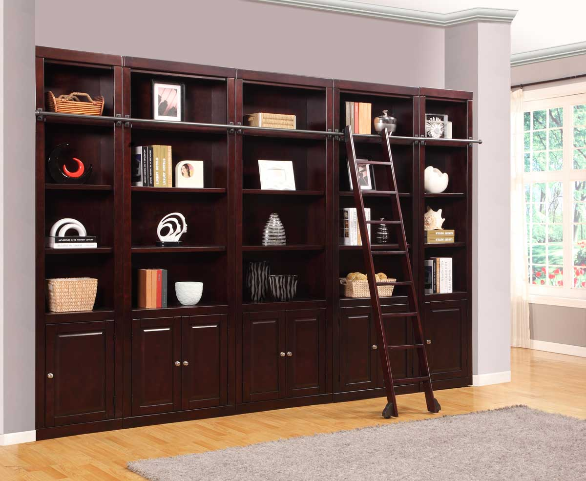 Image of: Library Bookcase Style