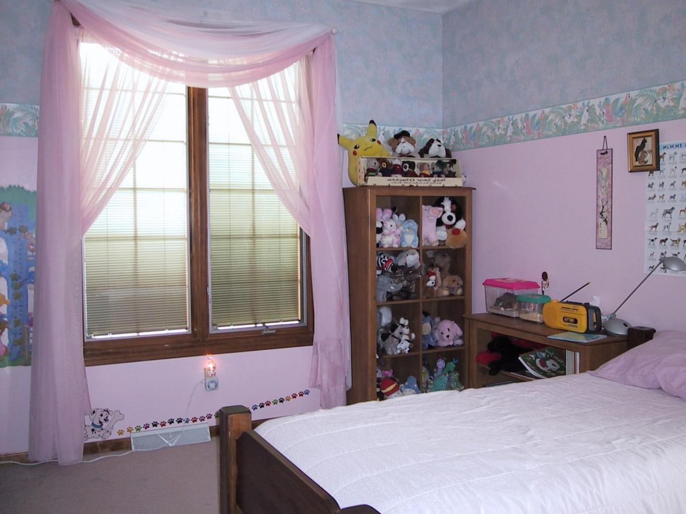 Image of: Light Pink Blackout Curtains