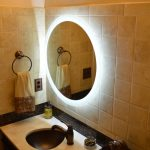 Lighted Wall Mirror Shapes