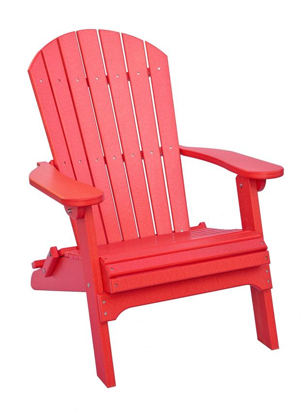 Image of: Living Accents Folding Adirondack Chair