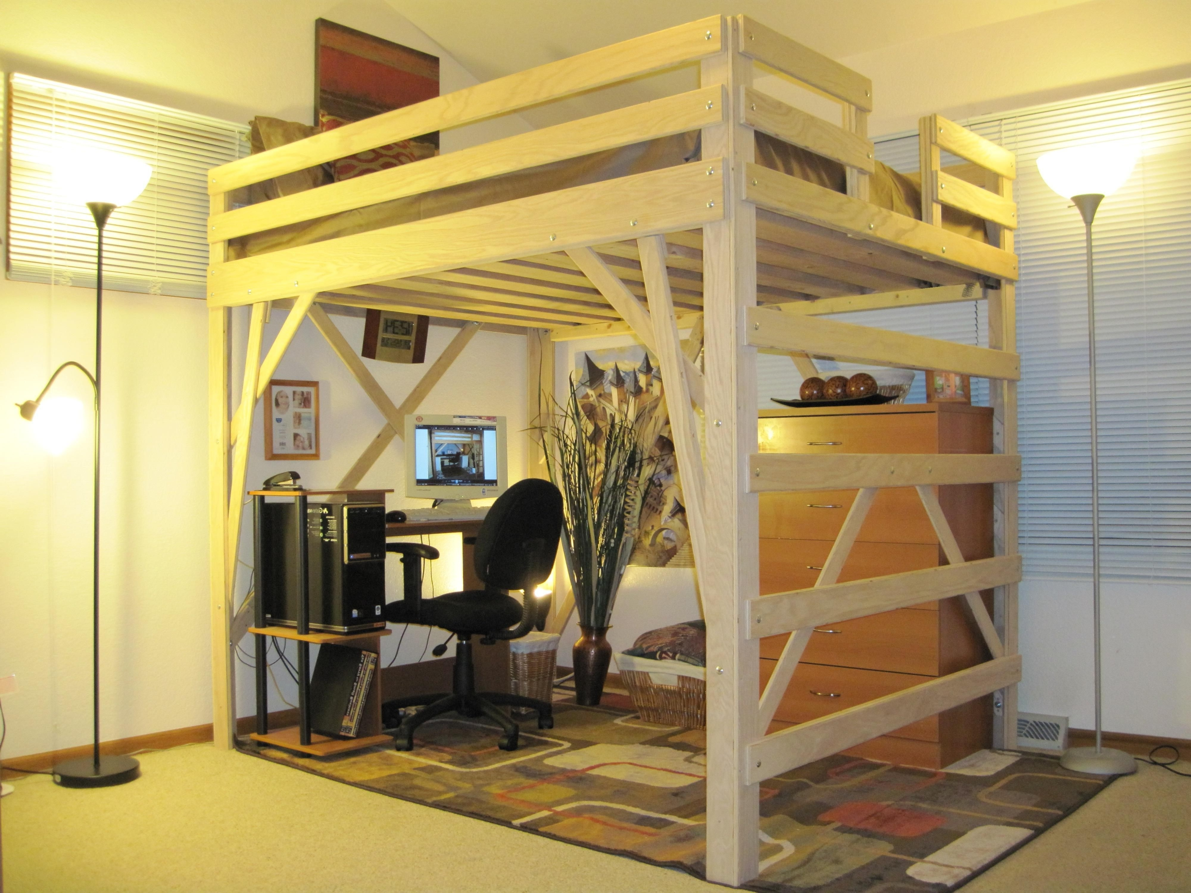 Image of: Loft Bed Frame Malaysia