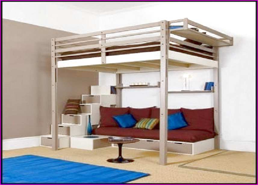 Image of: Loft Bed Frame Twin Xl