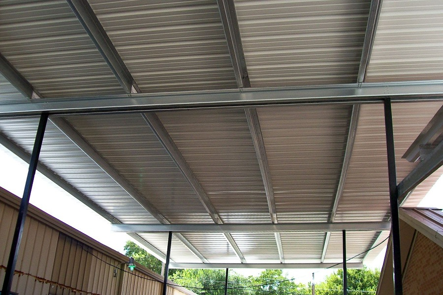 Image of: Long Awning Covers