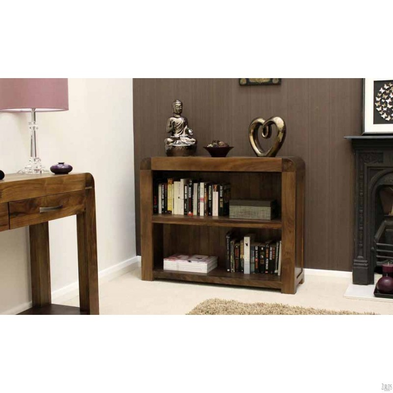 Image of: Long Low Bookcase sweet