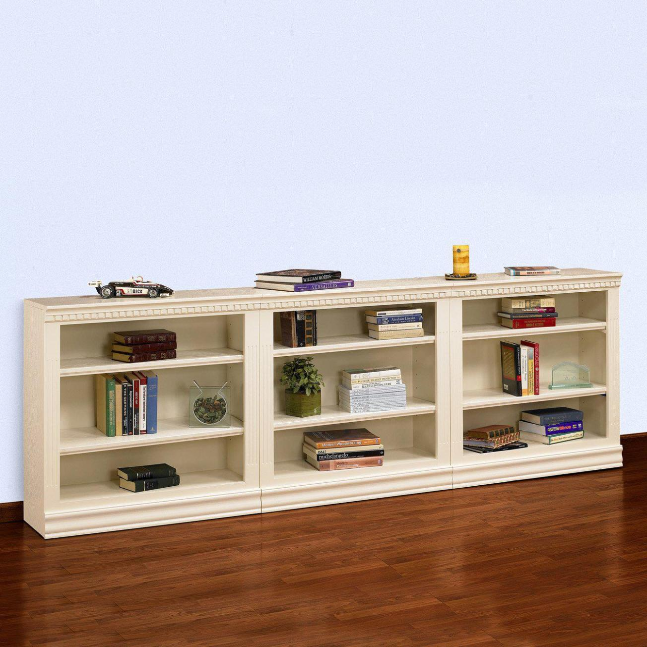 Image of: Long Short Bookcase
