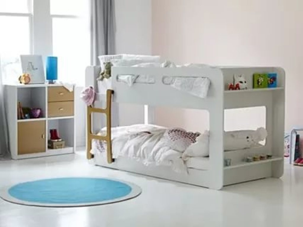 Image of: Low Bunk Beds For Kids