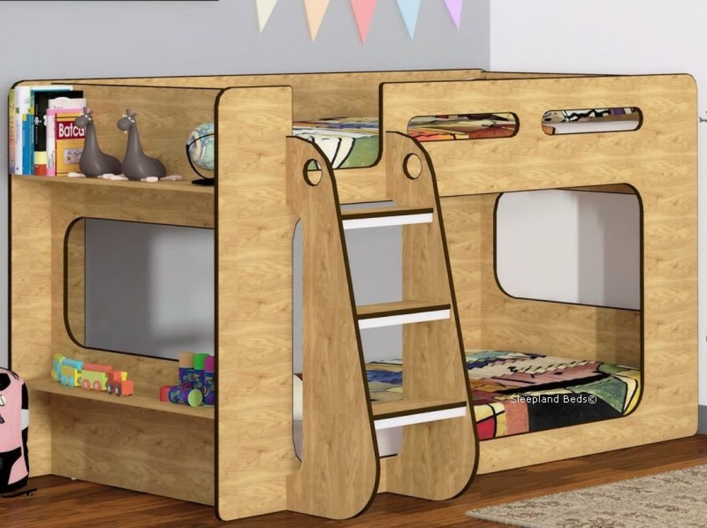 Image of: Low Bunk Beds For Toddlers Canada